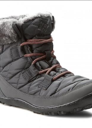 Зимние ботинки columbia youth minx shorty omni-heat waterproof р. 36