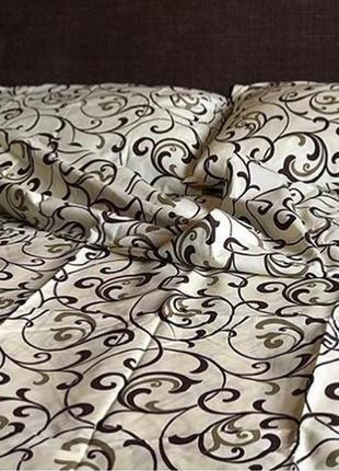 Натуральное постельное белье (семейный размер)