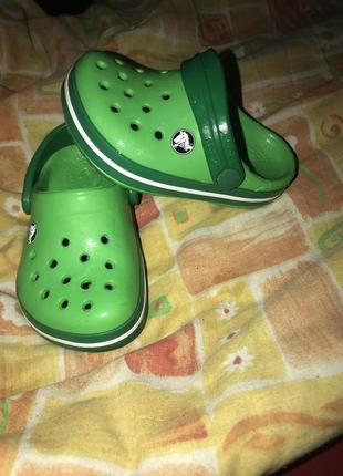 Кроксы crocs оригинал с4-5