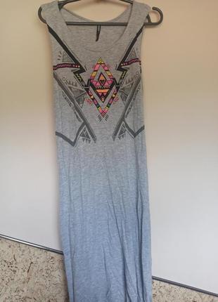 Пляжное легкое платье cropp