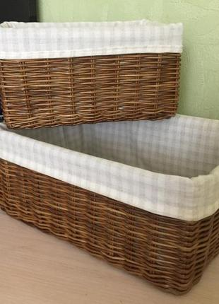 Комплект корзин- органайзеров  handmade