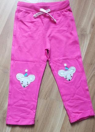 Штанишки для девочки, хлопковые штаны для девочки, штаны на девочку