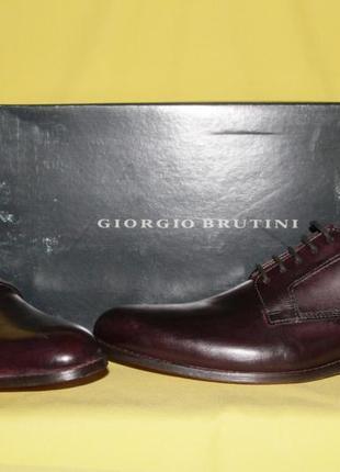 Туфли мужские giorgio brutini, размер 47,52 фото