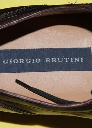 Туфли мужские giorgio brutini, размер 47,57 фото