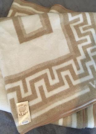 Одеяло плед жаккардовое новое