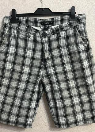 Fsbn стильные шорты в клетку германия