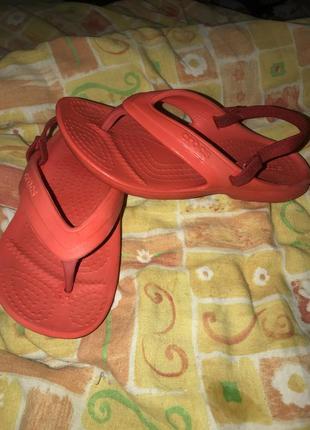 Вьетнамки crocs оригинал с11