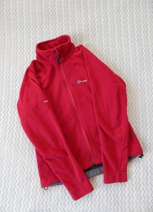 Виндстопер свитер кофта джемпер худи флисовка berghaus