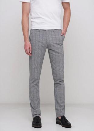 Стильные мужские легкие брюки alberto fit р.48 (33/34) оригинал