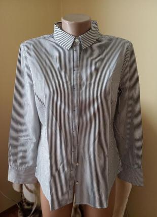 Блуза рубашка бавовняна mango