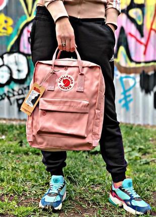 Рюкзак fjallraven kanken pink купить фьялравен канкен розовый
