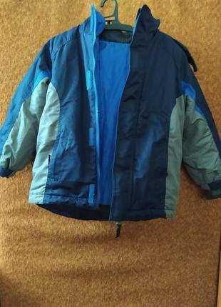 Супер вигідна зимова куртка на хлопчика 3 в 1 від athletic works, куплена на george