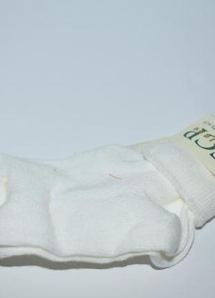 Белоснежные носочки kids socks tcp basics the childrens place shoe size 0-7 оригинал сша