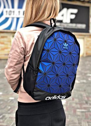 Рюкзак adidas blue  купить адидас синий