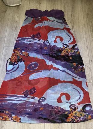 Платье шифоновое  більшого размера