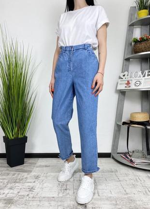 Винтажные летние джинсы высокая посадка мом момы винтаж joy