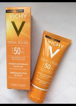 Солнцезащитный крем vichy spf 50