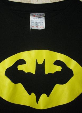 Мужская хлопковая футболка batman бетмен cotton best