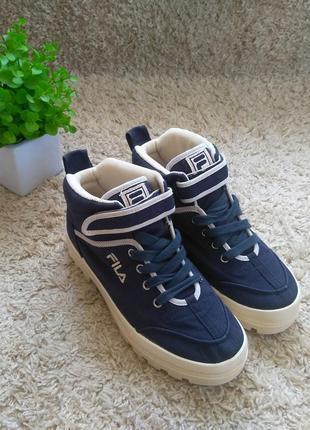 Кроссовки ботинки fila оригинал