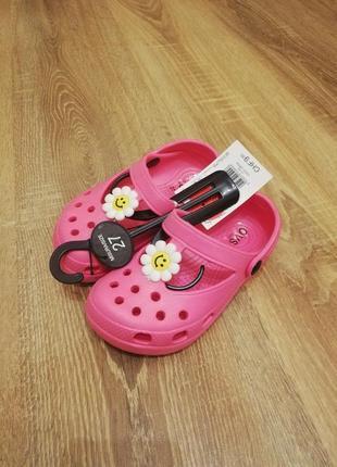 Кроксы crocs на девочку