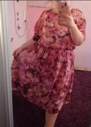 Платье большого размера батал