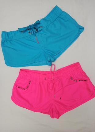 Летние шорты в двух цветах censored