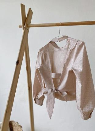 Блуза з відкритою спиною 17051