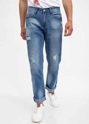Мужские стильные модные джинсы