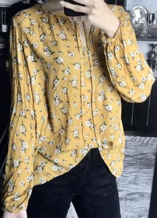 Кофта блуза на завязках new look