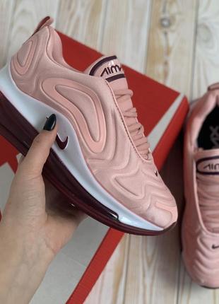 Кроссовки nike air max 720 pink кросівки