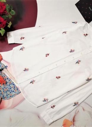 Модная рубашка tu, 100% хлопок, размер 12/40 или l