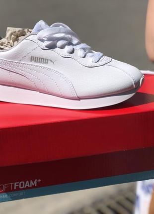 Белые кроссовки puma turin 38р