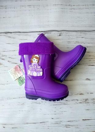 Резиновые сапоги для девочек из серии disney princess 28,29