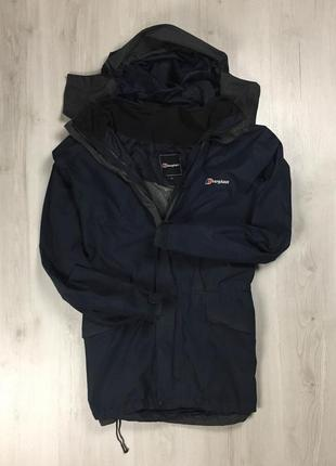 F9 ветровка berghaus синяя куртка