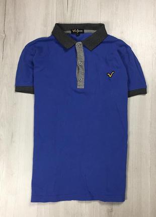 Z8 тенниска voi jeans синяя футболка поло с воротником