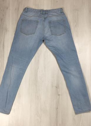 N9 джинсы зауженные next некст голубые штаны синие