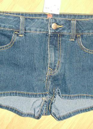 Короткие джинсовые шорты н&м