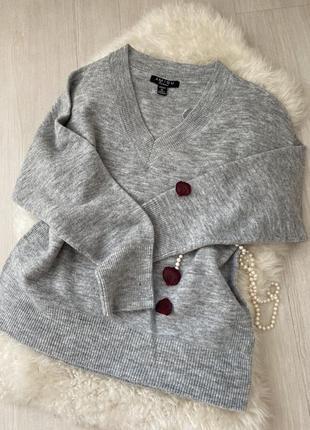 Свитер серый , свитер весенне- осений