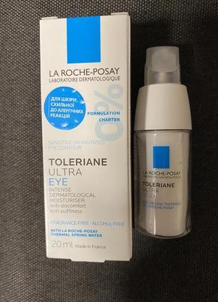 Увлажняющее средство для контура глаз la roche-posay toleriane ultra eye cream