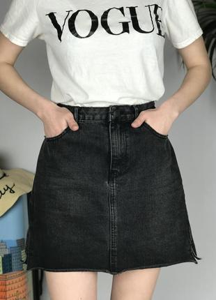 Актуальная джинсовая юбка new look