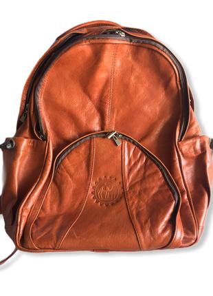 Шкіряний жіночий рюкзак