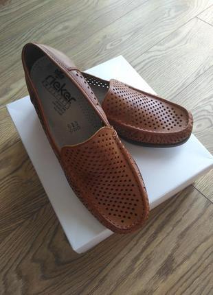 Мужские летние туфли rieker германия размер 42