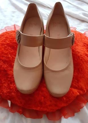 Туфли кожаные bene fit