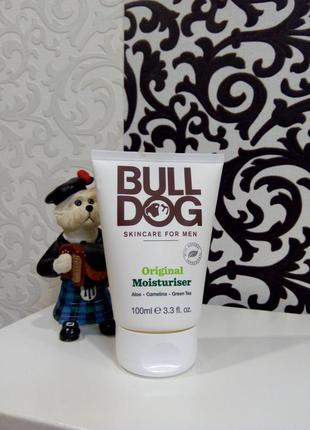 Увлажняющий крем лосьон bull dog для мужчин