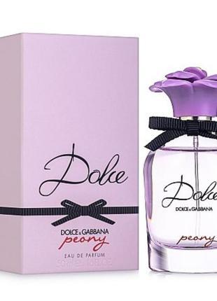 Dolce&gabbana dolce peony  парфюмированная вода