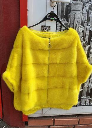 Норковый свитер