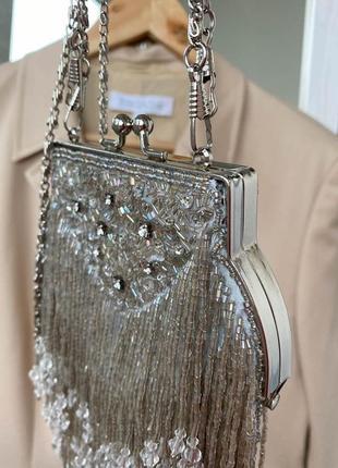 Ликвидация срочно🔥 сумка винтажная клатч / свадебное / вечернее