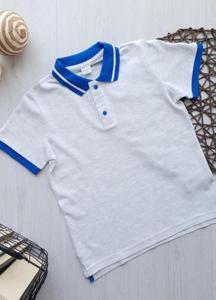 Летняя подростковая футболка-поло для мальчика piazza italia италия