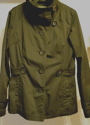 Чёрное укороченное пальто only