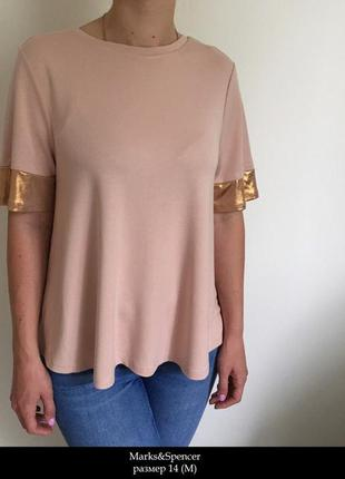 Качественная футболка-блуза